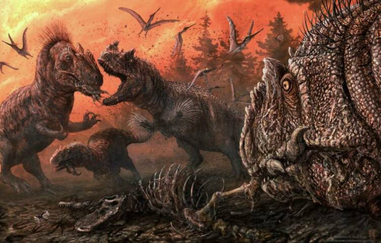 Found evidence of massive cannibalism in dinosaurs