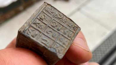 Fragments of an ancient vimaana discovered in Great Britain