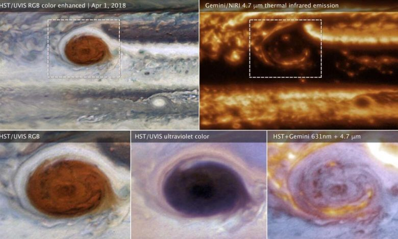 Gemini telescope was lucky and it dived deep into the clouds of Jupiter