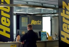 Hertz largest car rental service announced bankruptcy
