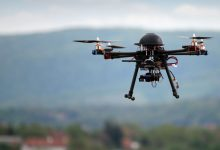In India locust defenses with drones