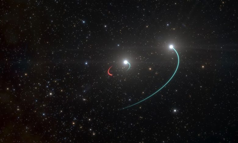 In the Milky Way found a black hole closest to Earth