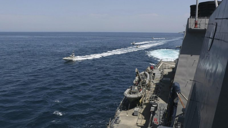 Iran explained the incident with the US in the Persian Gulf