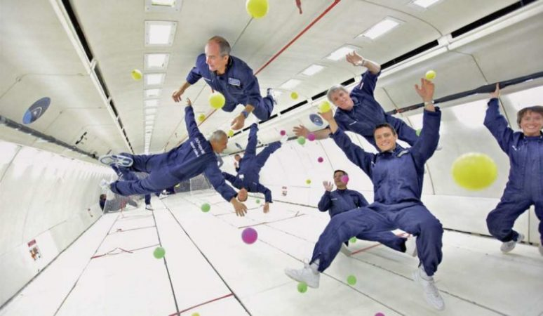 Is it possible to find microgravity on Earth