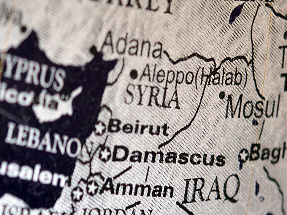 Israel hit a research center in Syria