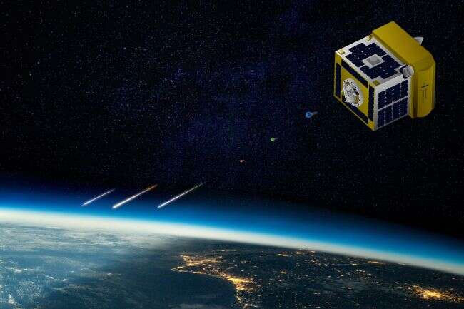 Japanese satellite with artificial meteors could not do anything