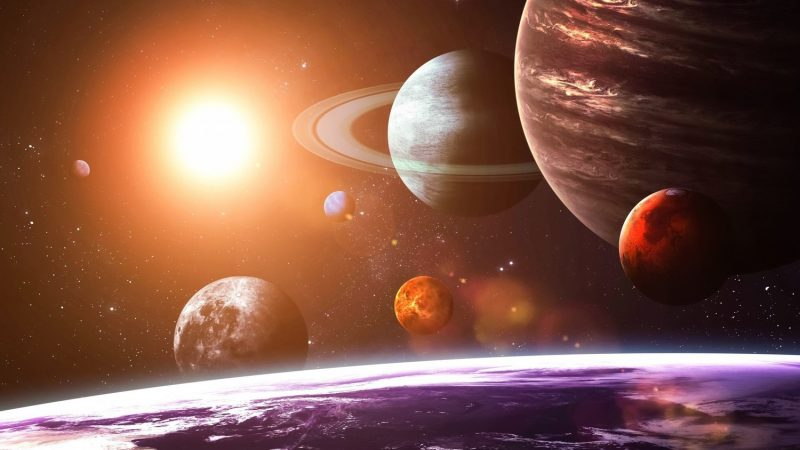 Jupiter Venus and Saturn switched to retrograde motion