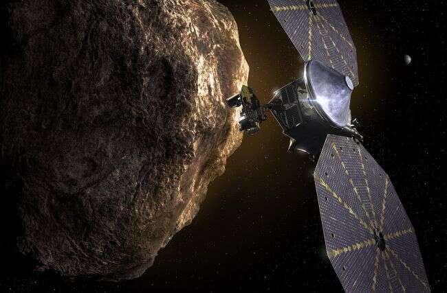 Lucy mission scientists find small satellite near Trojan asteroid