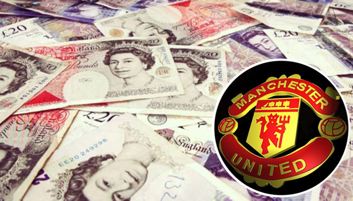 Manchester United football club debts up one third