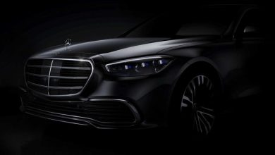 Mercedes Benz revealed the face of the new S Class