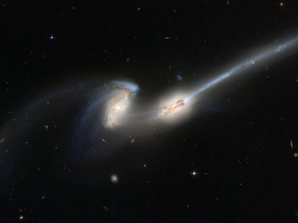 Mergers of galaxies cause activity in their core