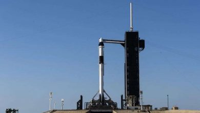 Missile Falcon for Demo mission ready for static fire test
