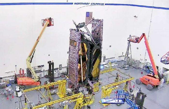 NASA James Webb Space Telescope converted to flight configuration