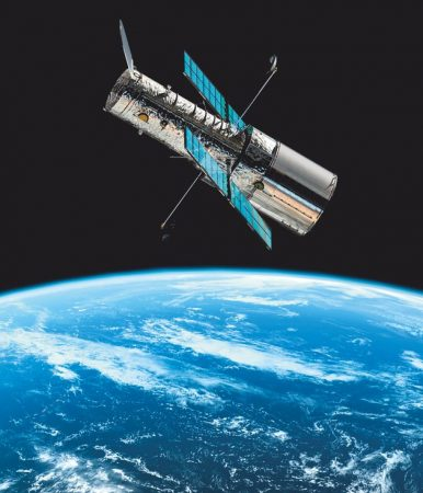 NASA believes the Hubble which revolves around the Earth at an altitude of kilometers is one of its best investments