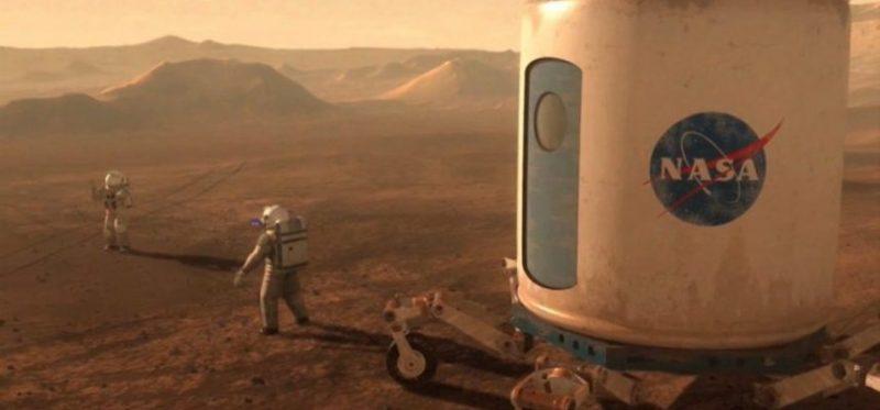 NASA in Mars