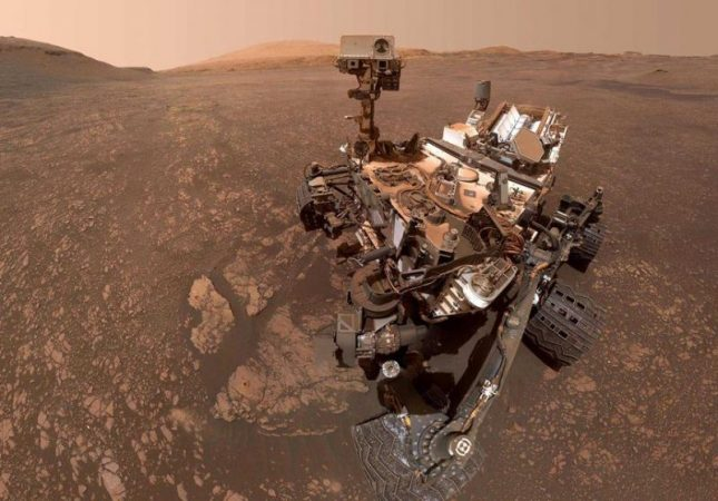 NASA scientists showed how to control a rover from home