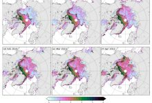 NASAs new satellite shows that thickness of Arctic ice has decreased by since