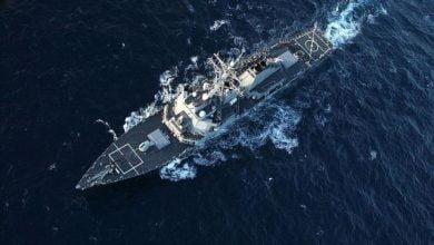 NATO ships strike group leaves Arctic