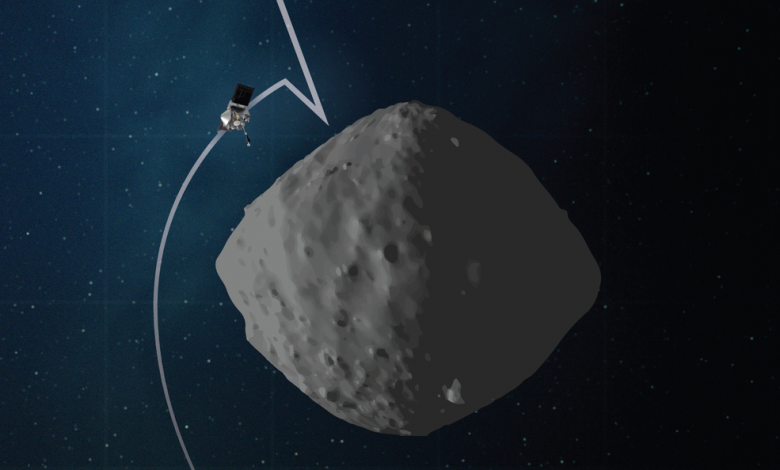 OSIRIS REx rehearsed sampling from the surface of asteroid Bennu