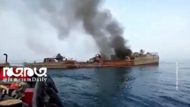 One Iranian warship knocked out another missile