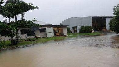 Record rains hit Australias east coast