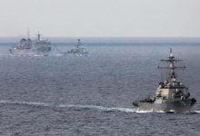 Russian fleet monitors NATO ships in the Barents Sea