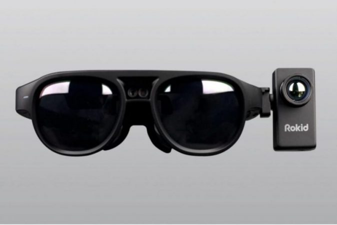 Smart glasses designed to detect COVID symptom in other people at a distance