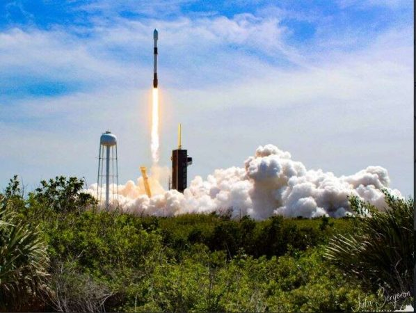 SpaceX barges evade tropical storm amid delayed launch of Starlink