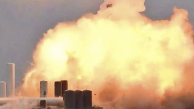 SpaceX prototype just exploded during testing