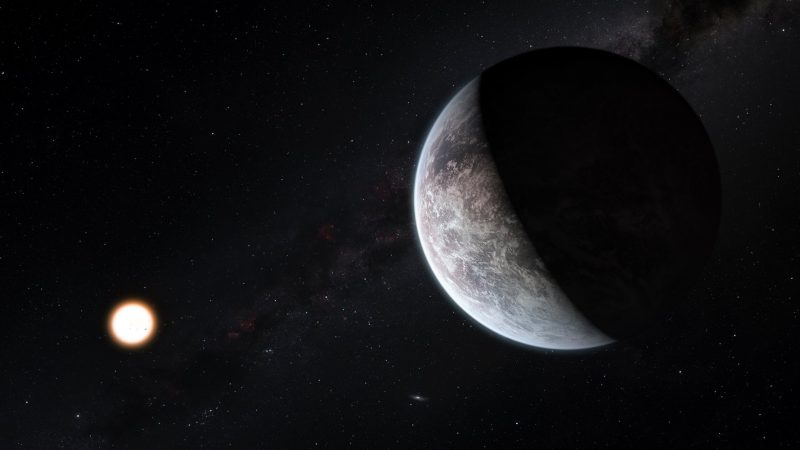 The farthest exoplanet of the Milky Way was discovered near a miniature star