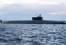 The submarine Prince Vladimir began underwater tests in the White Sea