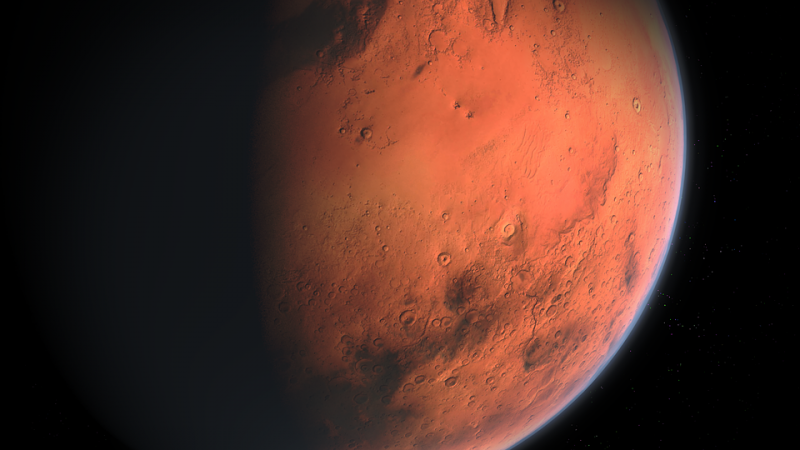 There may be salt water on Mars