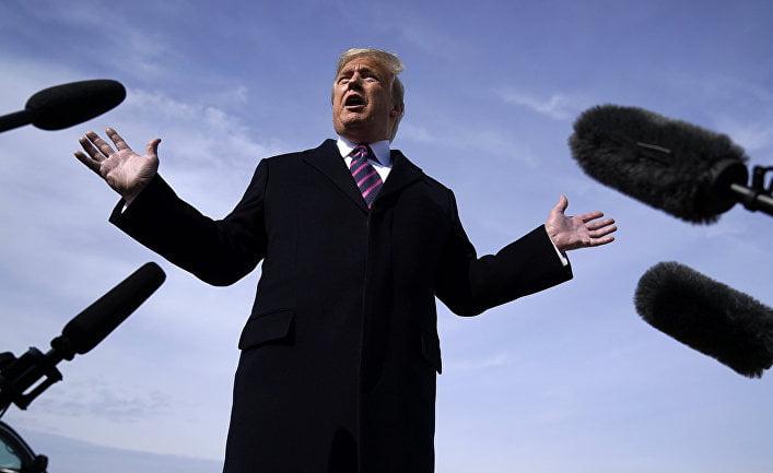 Trump quarrels with reporters