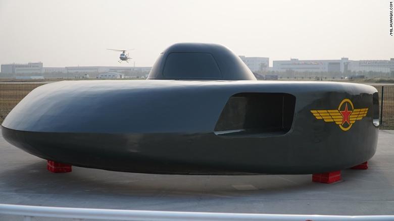 UFO like Chinese helicopter prototype