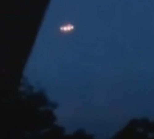 UFO observed in the area of the city of Minas Gerais Brazil