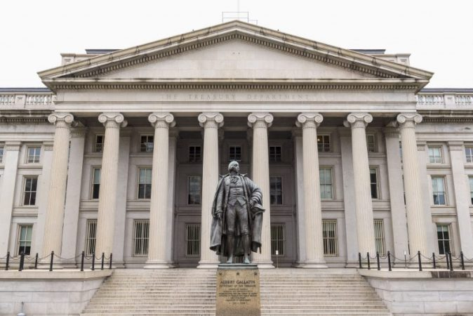 US Treasury plans to place trillion worth of bonds in the second quarter