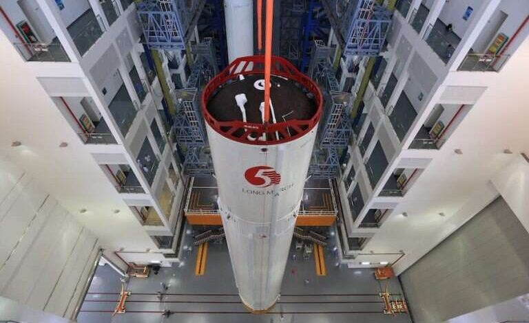 US military tracks uncontrollable fall of Chinese rocket