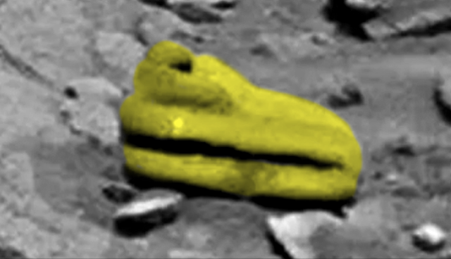 Ufologist discovered on Mars ancient artifact