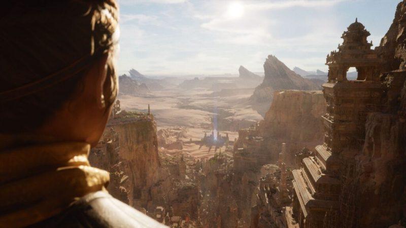 Unreal Engine based graphics shown for PlayStation