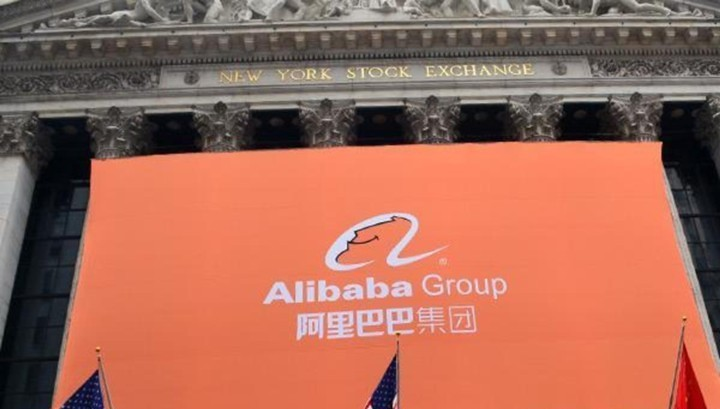 Weak forecast pulled Alibaba shares down