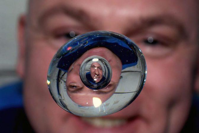 Why do objects float in orbit