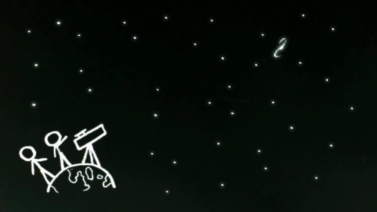 Why is the night sky dark