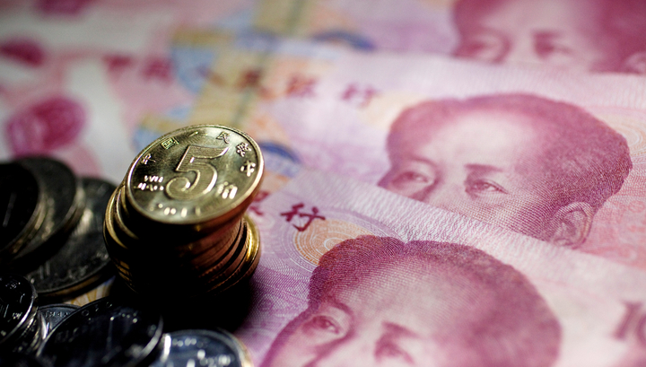 China allowed the yuan to fall to a five month low