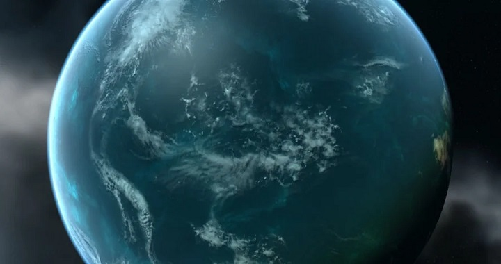 Every fourth planet has oceans