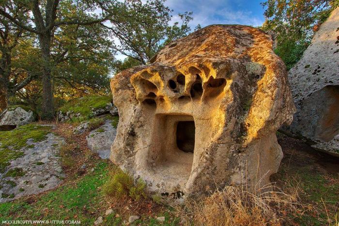 Fairy Houses in Sardinia