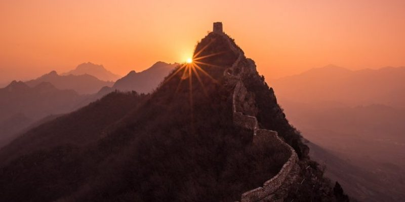 Great Wall of China had another destination researchers say