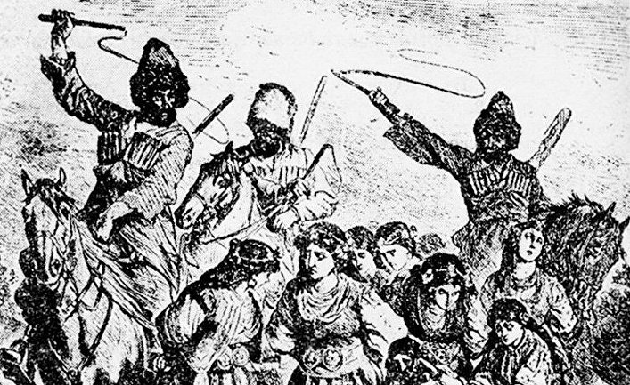 How the Turks and Bulgarians traded in the slave trade