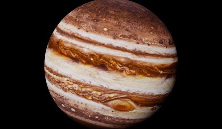 Jupiter analogue found near the solar system