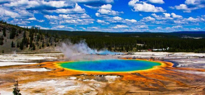 More than ten earthquakes recorded in Yellowstone in just 24 hours
