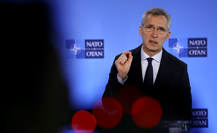 NATO Secretary General Russian missiles can hit any target in Europe